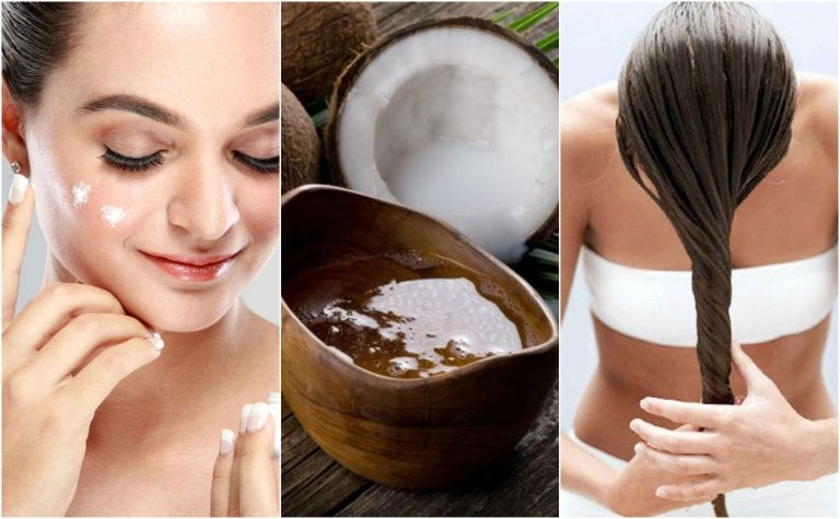 5 kosmetische Behandlungen mit Kokosöl