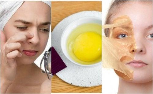 5 Masken mit Ei für schöne Haut