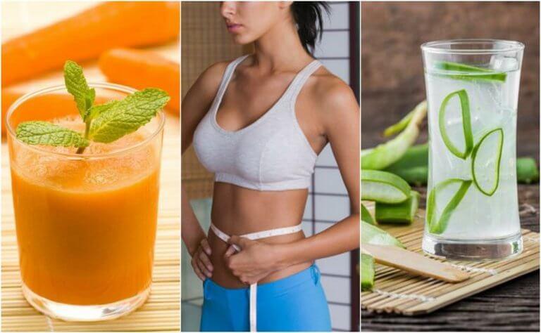 5 Mixgetränke, die gegen Bauchfett helfen