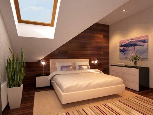 modernes gesundes Schlafzimmer