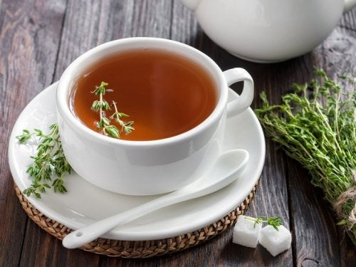 Hausmittel mit schleimlösenden Pflanzen: Thymian
