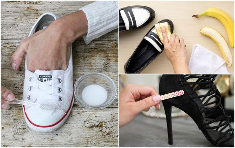 10 Tricks für saubere Schuhe