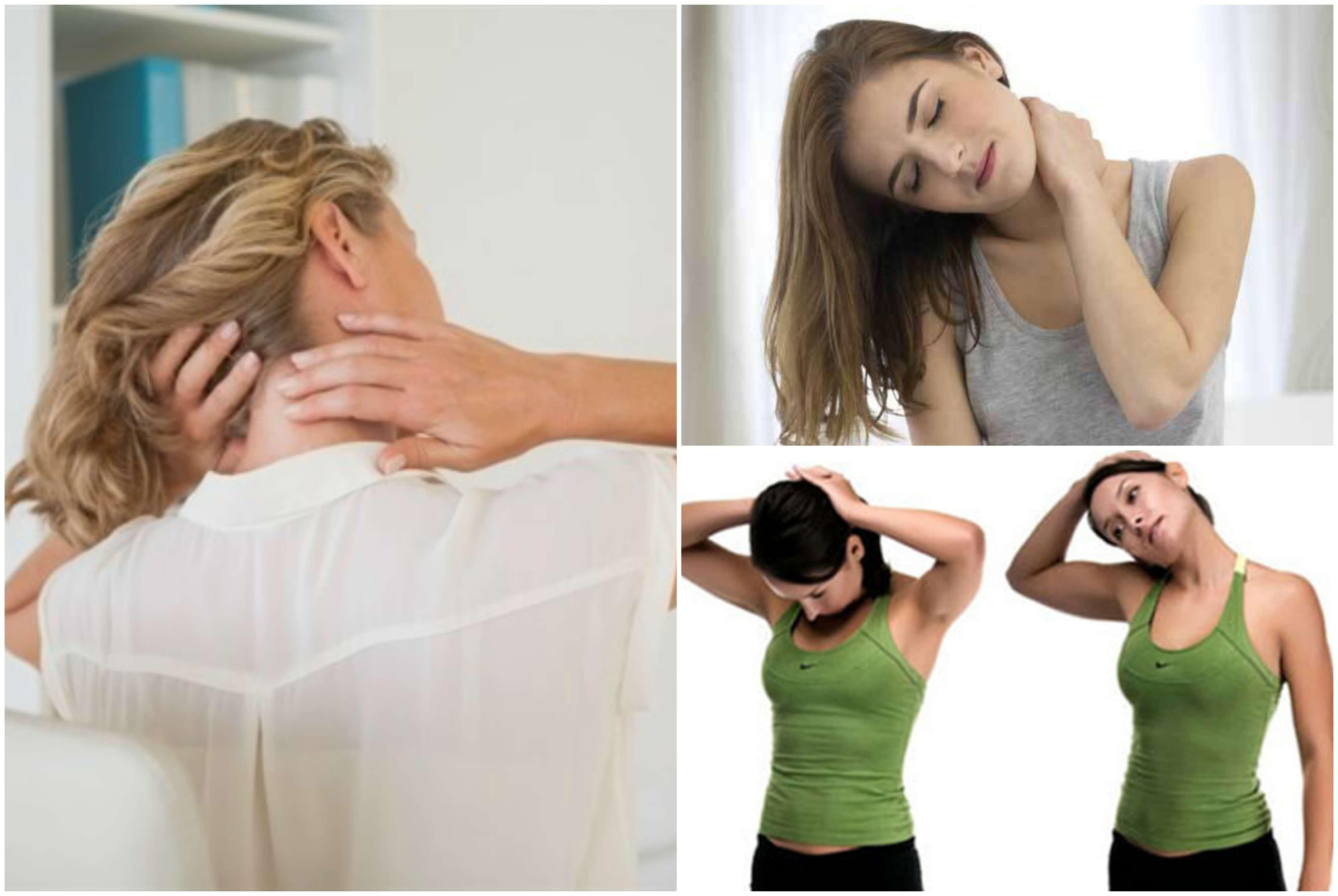 6 Übungen gegen Nackenschmerzen