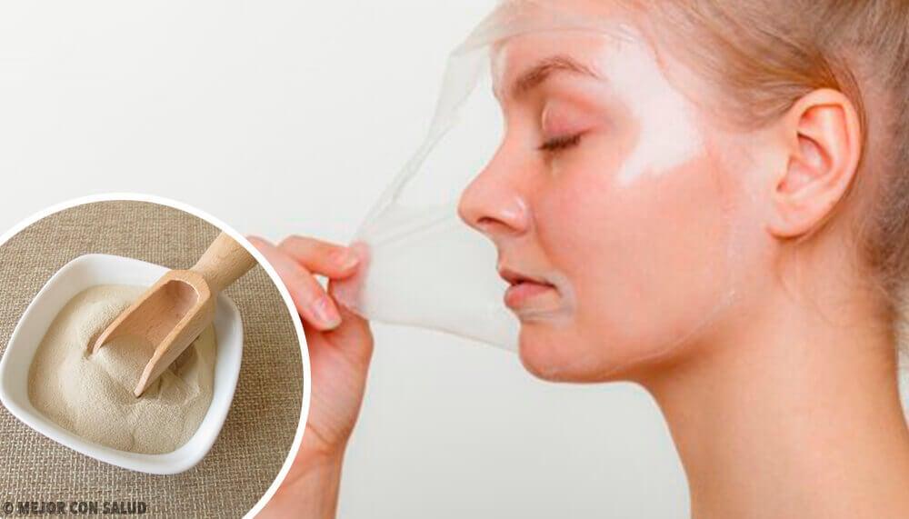 4 Peeling-Masken mit Gelatine zur Revitalisierung der Haut
