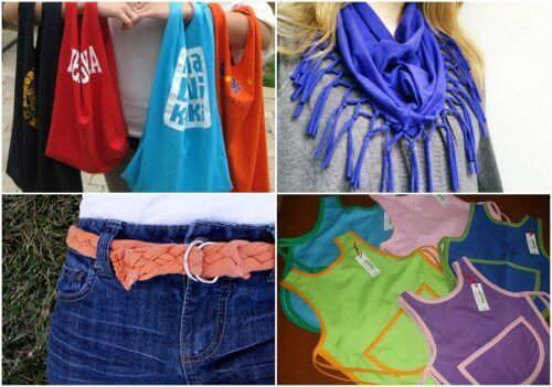 9 tolle Arten alte Baumwollshirts zu recyclen