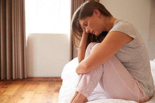 Anzeichen für einen kranken Darm - Innere Unruhe und Depression