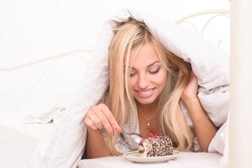 Anzeichen für einen kranken Darm - Süßigkeiten