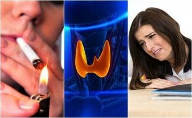 Schlechte Gewohnheiten für die Schilddrüse