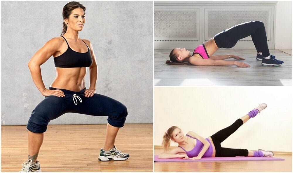 Einfache Fitnessübungen für zuhause