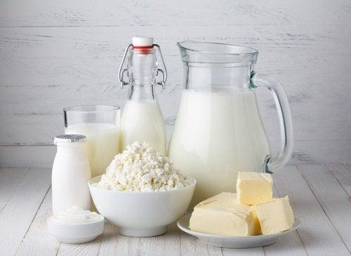 Milchprodukte nicht zum Frühstück