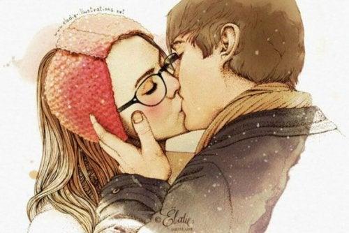 Die Liebe zwischen Mann und Frau