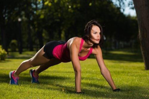 Frau will mehr Fitness