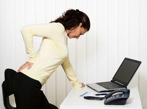 Rückenschmerzen, die von der Seele kommen