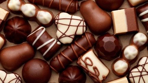 Schokolade kann Sodbrennen verursachen.