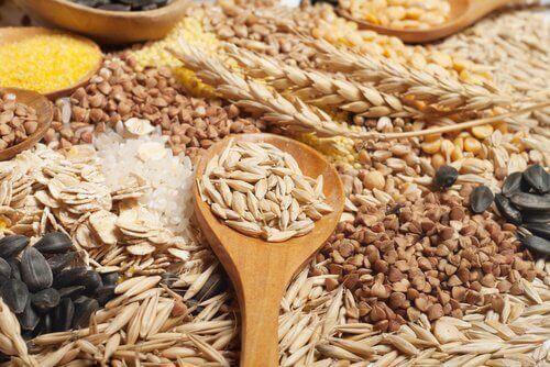 Lebensmittel mit viel Kalium: Vollkorngetreide