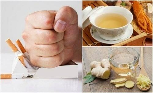 5 Tees, die dein Verlangen zu rauchen reduzieren