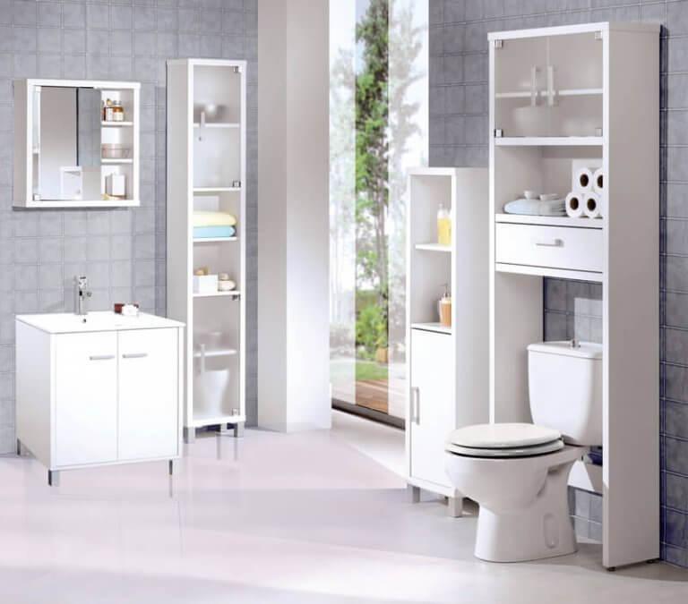 Effektive Reinigung des Badezimmers
