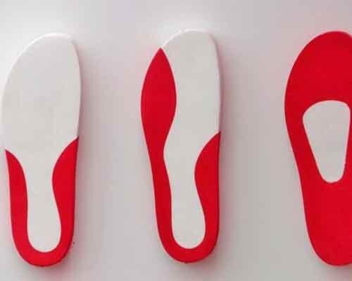 Einlagen für flache Schuhe