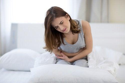 Dickdarm und Flankenschmerzen