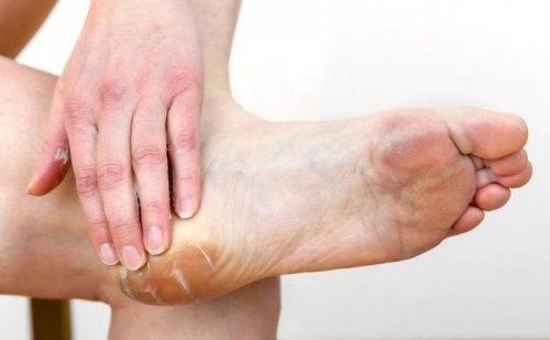 Fußpflege nach de tragen von High Heels