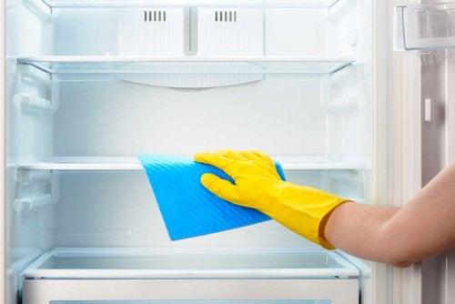 Kühlschrank reinigen und schlechte Küchengerüchte loswerden