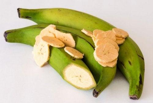 Banane oder Kochbanane?