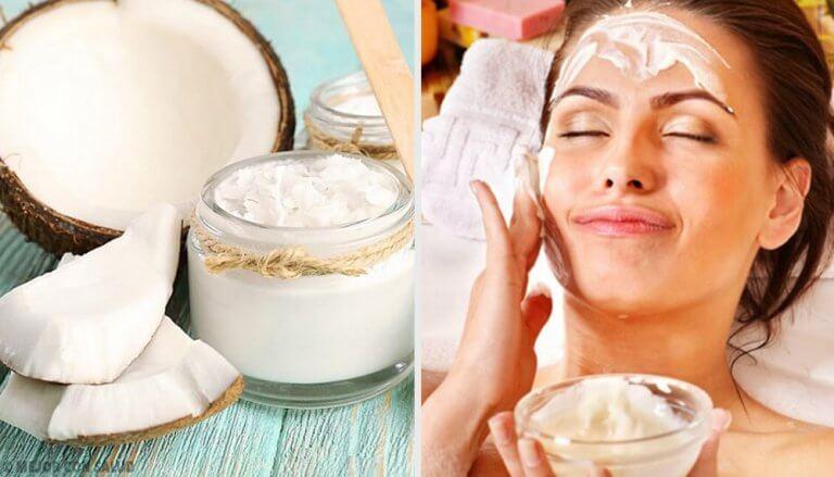Kokosöl für kosmetische Anwendungen