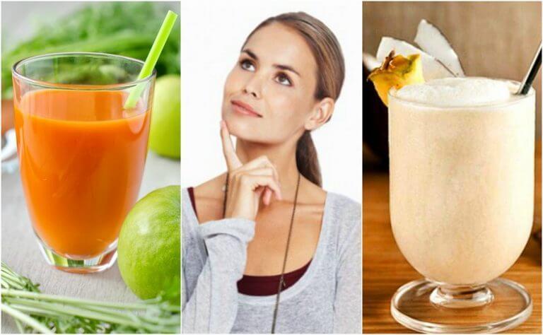 5 Mixgetränke für ein besseres Gedächtnis