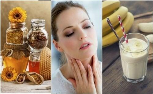 6 natürliche Heilmittel gegen einen trockenen Hals