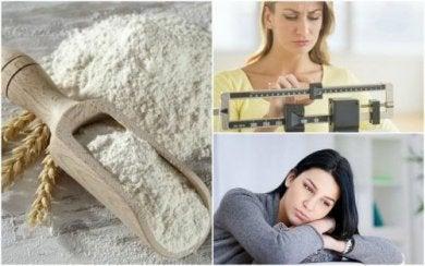 Negative Auswirkungen von raffiniertem Mehl