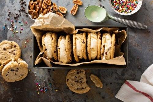 Desserts für Diabetiker: Nusskekse