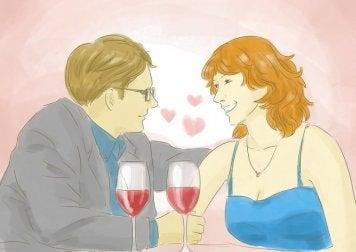 Paar gibt sich zweite Chance in Beziehung