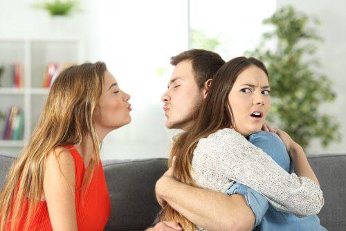 Untreue von verheirateten Menschen