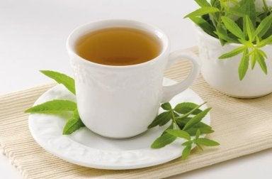 Entzündungshemmende Mittel: Tee mit Anis, Zitronengras und Zitronenmelisse