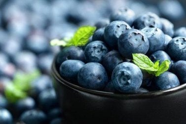 Blaubeeren-entzündungshemmende Nahrungsmittel