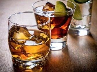 Alkohol-gesunde Leber