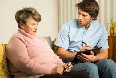 Gedächtnisverlust-Arten von Demenzerkrankungen
