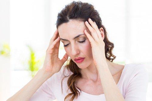 Migräne durch zu wenig Wasser