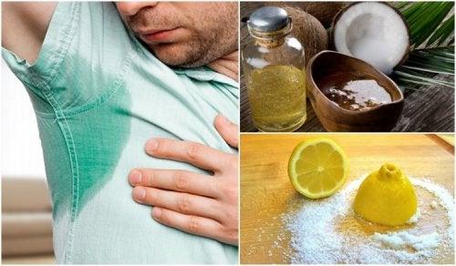 5 Hausmittel gegen übermäßiges Schwitzen