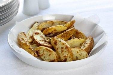 frittiertes Essen - gesunde Leber