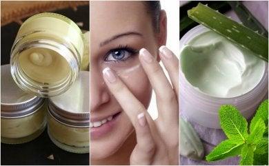 5 natürliche Cremes für tolle Augenkonturen