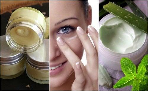 5 natürliche Cremes für gepflegte Augenkonturen