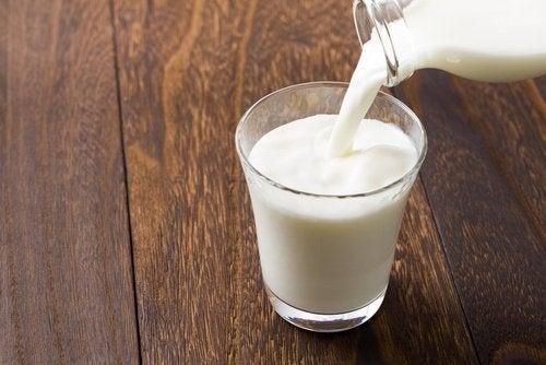 Milch gegen Sonnenbrand