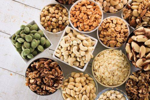 essbare Samen, verschiedene Sorten