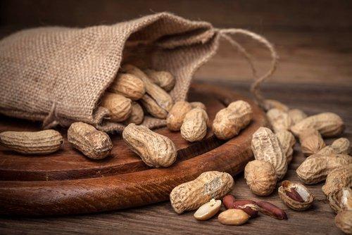 Erdnüsse sind essbare Samen