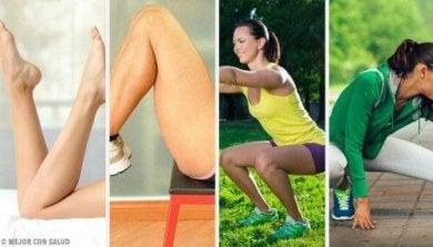 Fitnessübungen für die Beine
