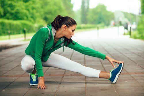 Fitnessübungen für die Beine - Abduktoren