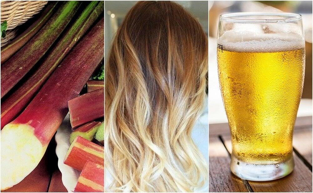 So hellst du deine blonden Haare mit Hausmitteln auf!