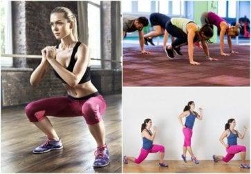 Mit diesen Übungen kannst du überall deinen Körper trainieren.