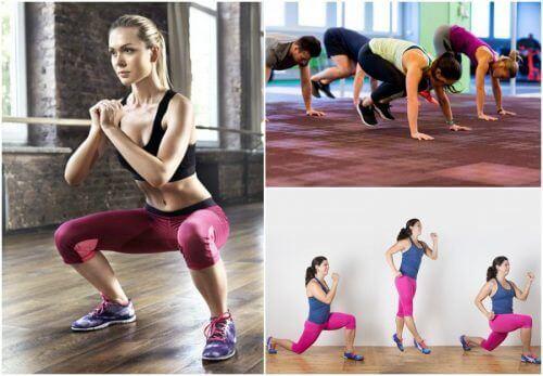 5 Übungen, mit denen du überall deinen Körper trainieren kannst